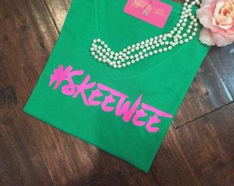 SkeeWee custom tshirt