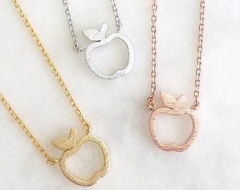 apple pendant necklace