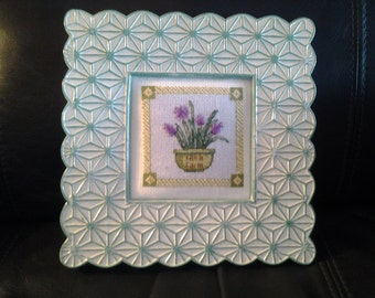 Herb Farm Counted Cross Stitch Picture