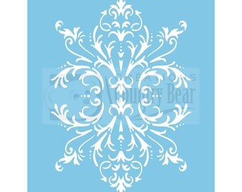 Stencil - Bit of Brocade - ST-012