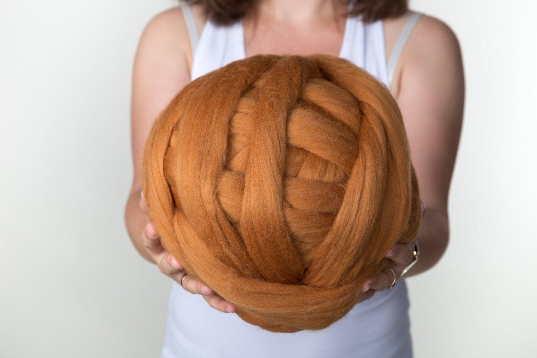 giant wool roving bulky yarn big yarn super chunky yarn. Black Bedroom Furniture Sets. Home Design Ideas