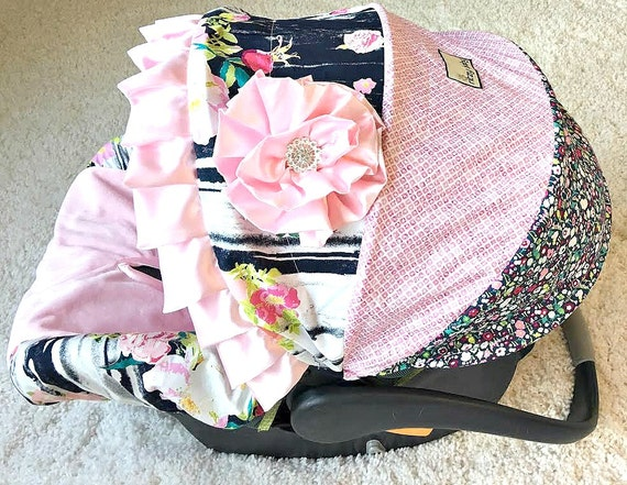 Baby Girl Infant Car Seats: Baby Car Seat Covers Girl Car Seat Covers Fancy Baby Covers