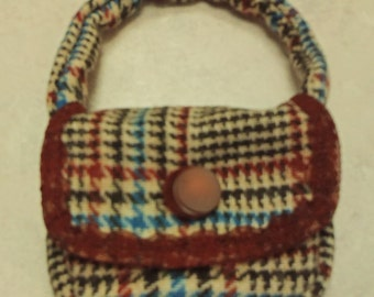 18 inch doll purse, handbag for american girl doll, american girl doll accessories