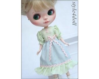 SALE - style4doll dress for Blythe