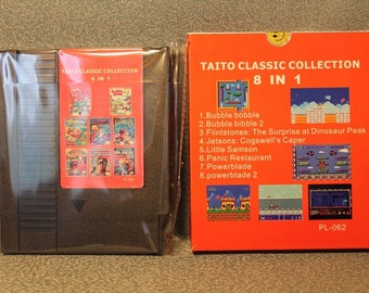 Taito Classic Collection. Bubble bobble 2, Little Samson, Power blade 2, Jetsons Cogswells caper. Free shipping