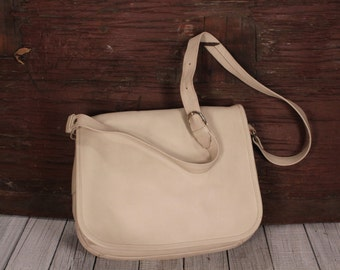 Ganson, Leather Purse, Shoulder Bag, white leather, purses, bags Ganson, Saddle bag white, Leather purse , Shoulder Bag,bags Purses