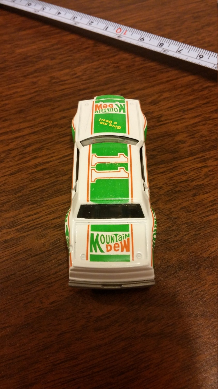 Vintage Ertl Mountain Dew 11 Stock Car Limited By