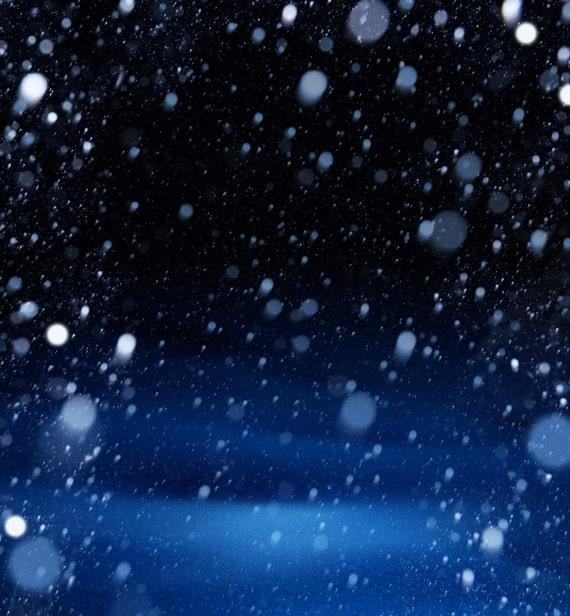 White Snow Back...
