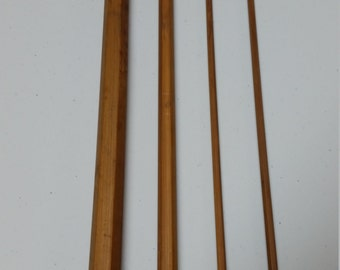 """Bamboo Fly Rod Blank 7' 6"""" 3 piece w/ extra tip 6-7wt"""