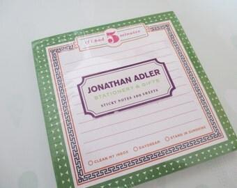 Jonathan Adler Sticky Notes