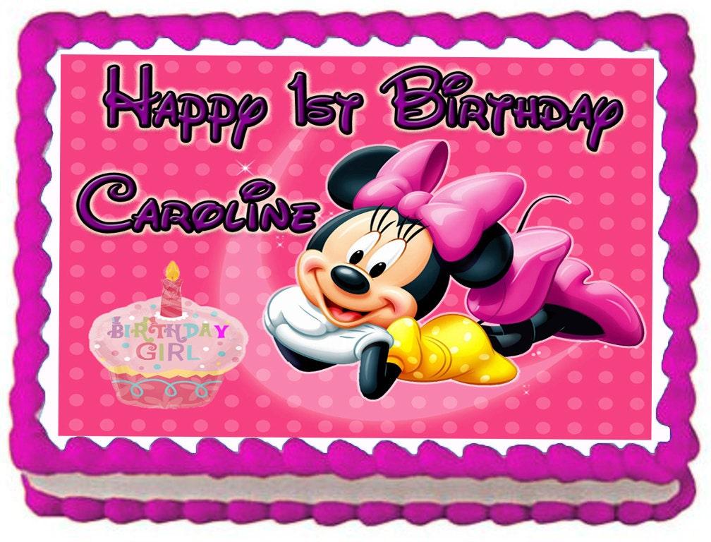 Minnie Mouse Cake Topper Australia