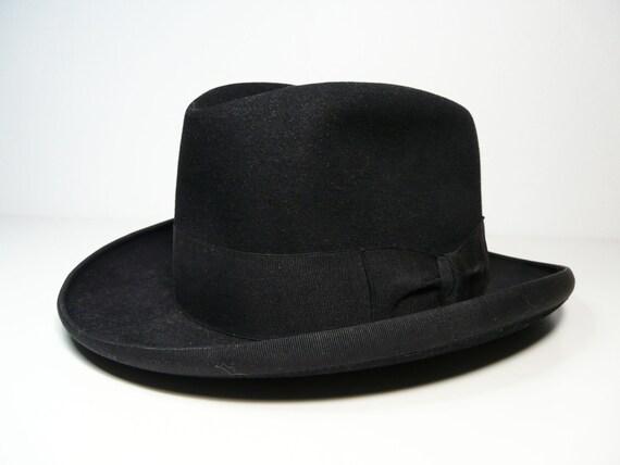 Vintage elegant italian Barbisio fedora men's hat