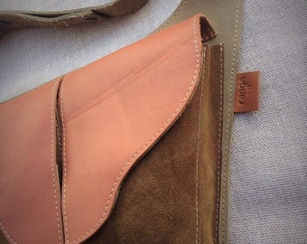 ranga SAVARI. Waist & cross body leather bag