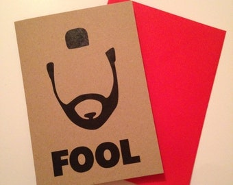 Mr. T Fool Card Blank