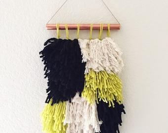 Mini Shag Wall Hanging