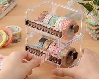 Masking Tape Organizer / Washi Tape Holder / Washi Tape Storage Case