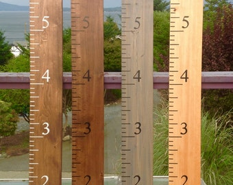 Ruler Growth Chart / Growth Chart Ruler / Height Chart / Measuring Stick / Wood