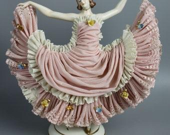 Ackermann & Fritze figurine Dancing Lady