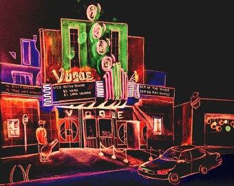 Indianapolis, Indiana, Broad Ripple, The Vogue Theater