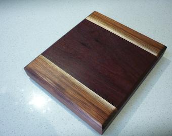 Cheese platter / serving tray / chopping board, Jarrah / Tasmanian blackwood
