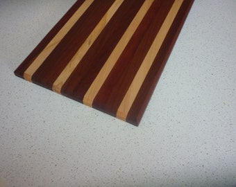 Cheese platter / serving board Tasmanian timber