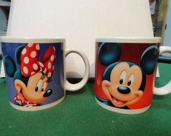 Applause Mickey and Minnie Mugs