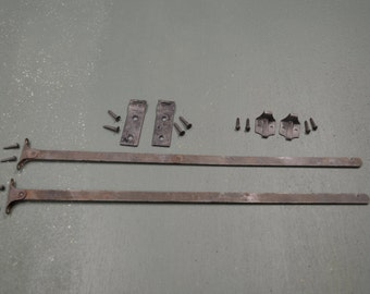 Antique Window Parts   Storm Window Stays   Window Hardware   Early 1900  Storm Window Support Arms  #356