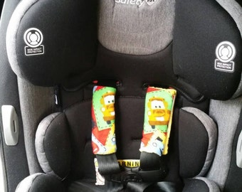 Disney Cars Car Seat Strap Covers
