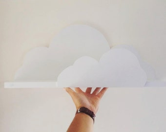 White Cloud Shelf hand made for childrens and babies room