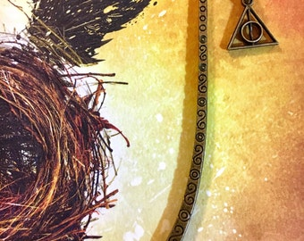 Small Deathly Hallows Bookmark