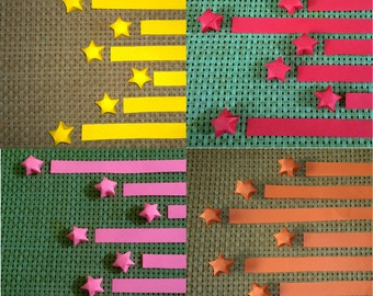 Origami Lucky Star Paper Strips, 160 strips