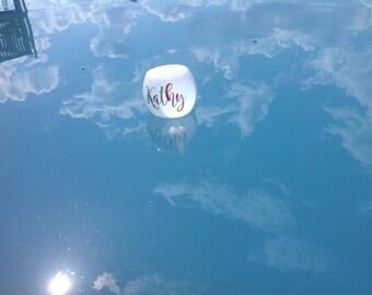 Floating Wine Glass, Floating Pool Glass, Spike Wine Glass, Beach Glass