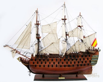 "38"" Santa Ana Ship Model ready for display"