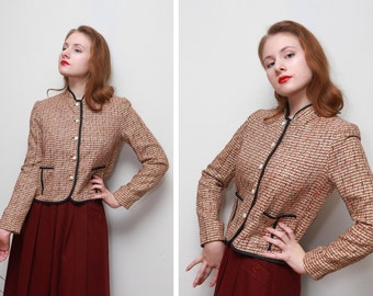Vintage Doncaster Women's Jacket/Woven Fabric/Side Pockets