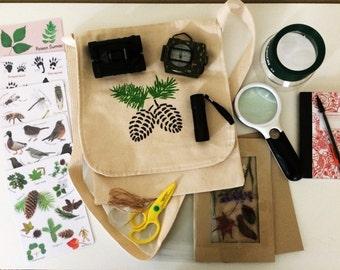 Nature explorer kit DELUXE EDITION - nature lover gift - little kids christmas - adventurer kit - outdoor toys - backyard toys