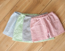 Boys Seersucker Shorts, More Colors, Toddler Boys Shorts, Baby Boys Shorts