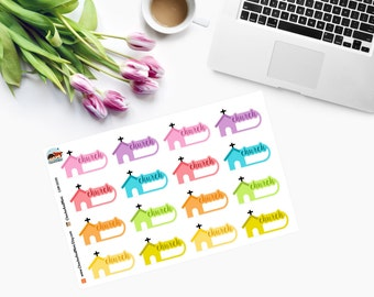 Event CHURCH Planner Stickers CAM00191