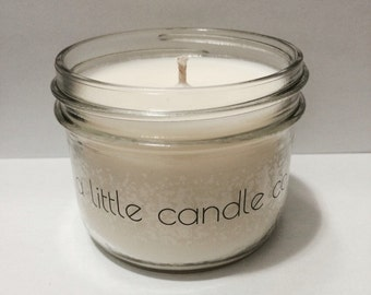 Free shipping! 8oz COFFEE Natural Soy Candle// made with phthalate free fragrance oil//vegan// scented// safe// refreshing