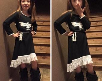 Live a Drean eagle fringe dress