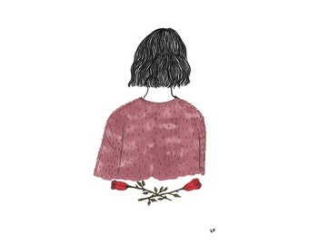 Girl In a Fuzzy Sweater | anniversary series