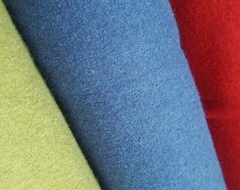 Boiled Wool Dressmaking Fabric - Sample Service