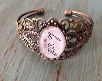 Bracelet ..Be still