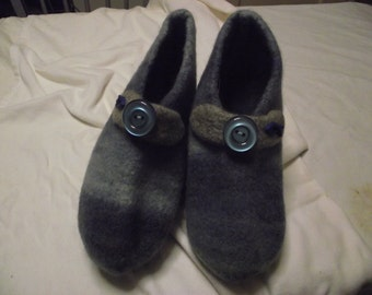 Felt slippers, size 44, art. No. SU 161