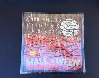 Halloween Subway Vinyl