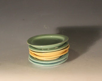 Porcelain Soap Dishes, Saucers, Coasters