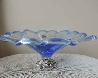 Murano White Crystal  Hand Made in Italy