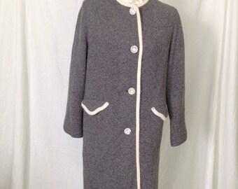 1950's Sweater Coat - 1950's coat - 1950's Coat - 1950's jacket