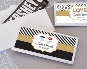 Personalized Theme Candy Wrapper Covers - 24 pieces