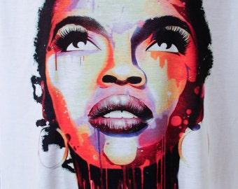 GorgeousLauryn Hill tshirt gifts Lauryn Hilltshirt gifts, Lauryn Hill Tee, Tees,shirt Lauryn Hill tshirt, Lauryn Hill Gift,tshirt gifts