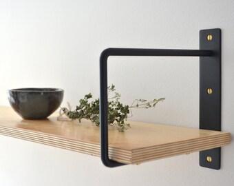 Classic Minimalist Shelf Brackets (Pair) / Équerres à Tablette Minimaliste Classique (Paire)